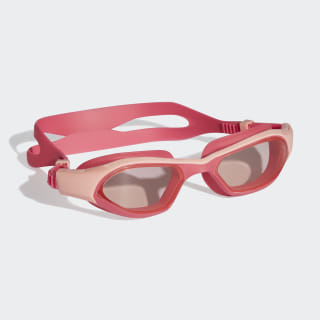 adidas persistar 180 unmirrored çocuk yüzücü gözlüğü Clear Orange / Real Pink / White DH4515