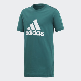 Essentials Logo T-shirt Noble Green / White DJ1773