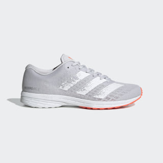Zapatillas para correr Adizero RC 2.0 Dash Grey / Cloud White / Signal Coral EG1175