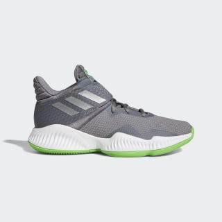 Explosive Bounce 2018 Shoes Grey Three / Silver Metallic / Shock Lime B96264