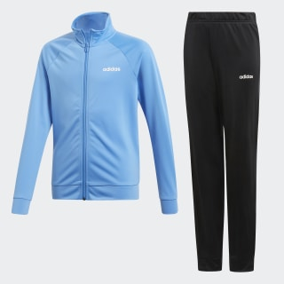 Conjunto deportivo Entry top:lucky blue/white bottom:black/white DV0843