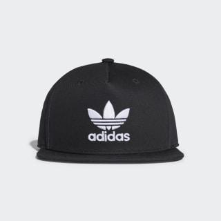 Trefoil Snap-Back Cap Black BK7324
