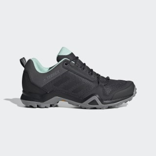 Кроссовки Terrex AX3 grey five / core black / clear mint BC0567