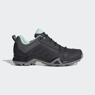 TERREX AX3 Schuh Grey Five / Core Black / Clear Mint BC0567