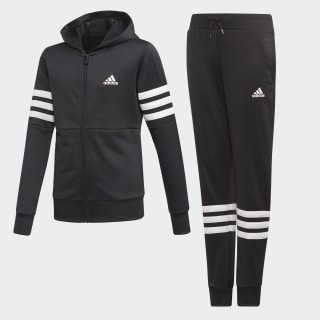Hooded Track Suit Black / White ED4638