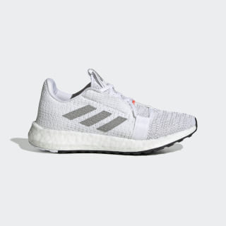 Senseboost GO Shoes Core White / Grey Two / Solar Red EF0908