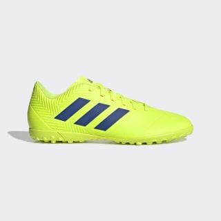 Guayos Nemeziz Tango 18.4 Césped Artificial solar yellow / football blue / active red BB9473