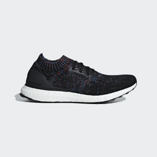 Giày Ultraboost Uncaged Core Black / Active Red / Blue B37692
