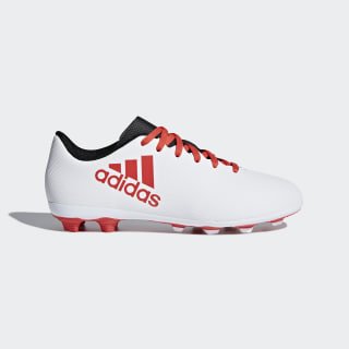 Chuteira X 17.4 Campo Infantil GREY/REAL CORAL S18/CORE BLACK CP9015