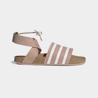 Adilette Ankle Wrap Sandals Ash Pearl / Cloud White / Ash Pearl EG3855