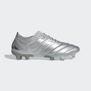 Chuteira Copa 20.1 Campo Silver Metallic / Silver Metallic / Solar Yellow EF8316