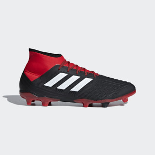 Predator 18.2 Firm Ground Boots Core Black / Ftwr White / Red DB1999