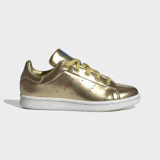 Stan Smith Shoes Gold Metallic / Gold Metallic / Crystal White FW8080