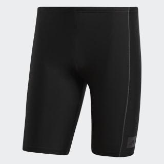 Traje de Natación adidas Solid Black / Utility Black BP5399