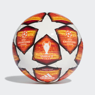 UCL Finale Madrid Competition Ball White / Active Red / Scarlet / Solar Red DN8687