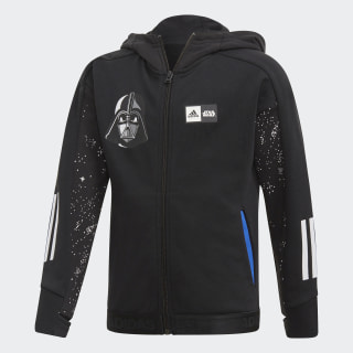 Mikina s kapucňou Star Wars Black / White FM2868