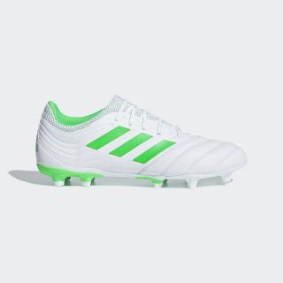 Calzado de fútbol Copa 19.3 Terreno Firme Cloud White / Solar Lime / Cloud White BB9188