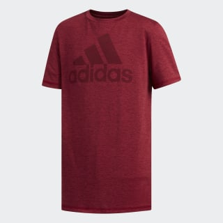 SS ADIDAS GRAPHIC TEE Collegiate Burgundy CL2159