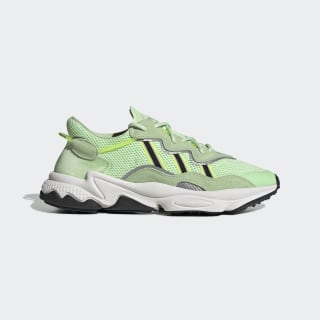 OZWEEGO Shoes Glow Green / Core Black / Solar Yellow EE6466