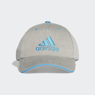 Graphic Cap Medium Grey Heather / Shock Cyan / Shock Cyan DW4757