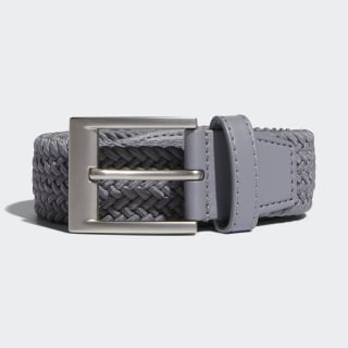 Braided Stretch Belt Grey Three DP7429