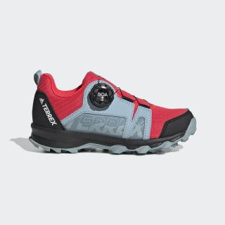 Zapatilla Terrex Boa Hiking Shock Red / Cloud White / Ash Grey EE8476