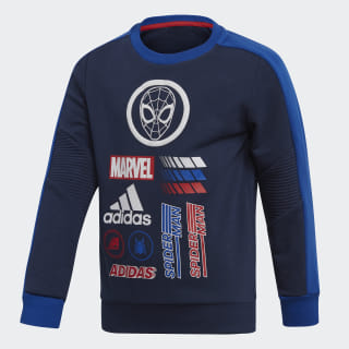 Sweatshirt Marvel Spider-Man Collegiate Navy / Collegiate Royal / Scarlet ED6454