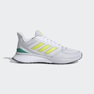 Nova Run Shoes Cloud White / Shock Yellow / Glory Green EG3164