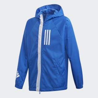 Chaqueta Cortavientos ID WND Blue / White DZ1828