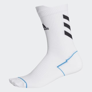 Alphaskin Primeblue Crew Socken White / Black / Sharp Blue FK0936