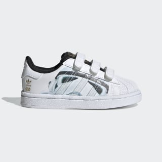 Кроссовки Superstar Star Wars Stormtrooper Cloud White / Cloud White / Core Black B23645