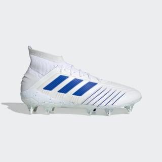 Bota de fútbol Predator 19.1 césped natural húmedo Ftwr White / Bold Blue / Ftwr White D98055