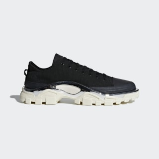 Tênis Raf Simons Detroit Runner core black/core black/cream white F34245