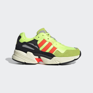 Кроссовки YUNG-96 J Hi-Res Yellow / Solar Red / Off White EE6695
