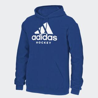 Badge of Sport Hockey Hoodie Blue CL2202