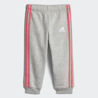 Pants Favourite Knit MEDIUM GREY HEATHER/REAL PINK S18 CF7440