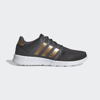 QT Racer Shoes Grey Six / Tactile Gold Metallic / Cloud White EG8480
