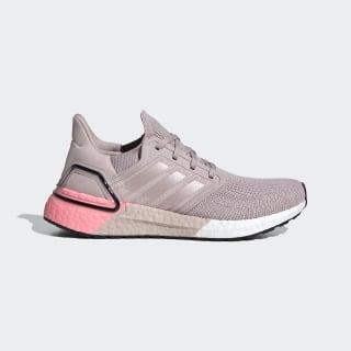Ultraboost 20 Shoes New Rose / New Rose / Light Flash Red EG0725