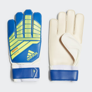 Predator Training Goalkeeper Gloves Solar Yellow / Active Red / Football Blue DN8564