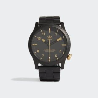 CYPHER_M1 Horloge Black / Gold Metallic EW1424