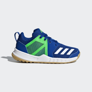 FortaGym Schuh Collegiate Royal / Cloud White / Shock Lime D97828