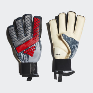 Predator Pro Fingersave Gloves Silver Metallic / Black / Hi-Res Red DY2635