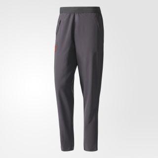 Pantalon de présentation Manchester United FC Utility Black/Bright Red AP7478