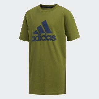 Texture Badge of Sport Tee Olive CM5079