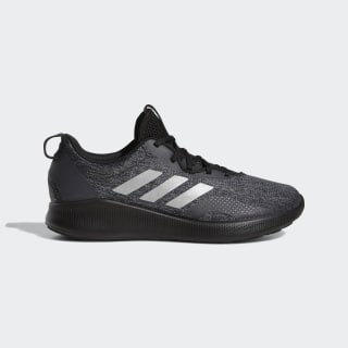 Purebounce+ Street Schuh Core Black / Tech Silver Met. / Carbon BC1031