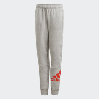 Pantaloni  Must Haves Medium Grey Heather / Active Orange DV0787