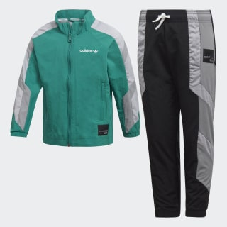 TRACKSUIT L EQT TS SUB GREEN/GREY THREE F17/WHITE BLACK/WHITE/GREY THREE F17 D98873