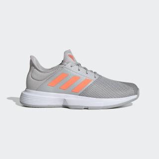 Zapatillas GameCourt Grey Two / Signal Coral / Grey Three EG2015