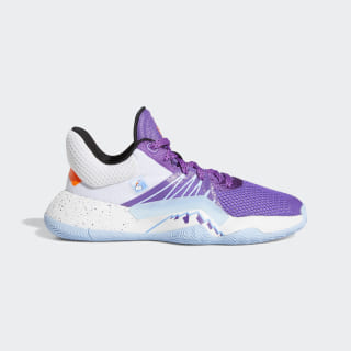 D.O.N. Issue #1 Shoes Active Purple / Cloud White / Glow Blue EH2433