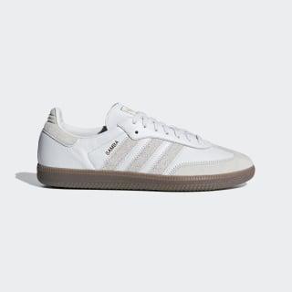Samba OG FT Schuh Crystal White / Raw White / Gold Met. BD7527
